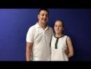 Видео отзыв Крестины и Сергея о постановки свадебного танца!
