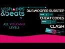 ALL VOLCANO LEVELS! JSB 10 - Dubwoofer (B), Cheat Codes (C), Clash (S) [1080p60]