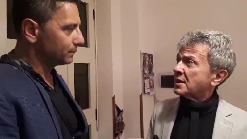 Pupo intervistato da Enzo Costanza