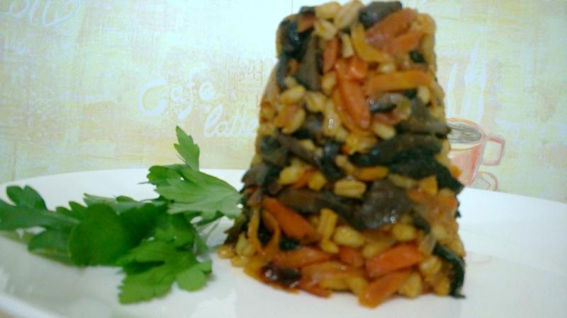 Кулинарный блог ПРОСТАЯ ЕДА: грибной суп и салат из ёжиков (ежовиков)