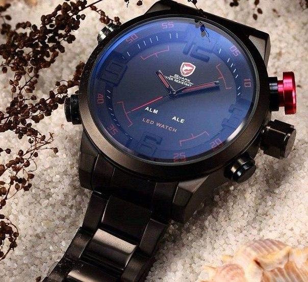 ???? Хит 2015 года! Спортивные LED-часы Shark Sport Watch!