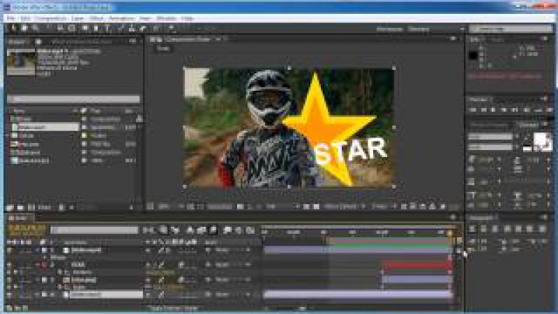 Adobe After Effects - Глава 5: Маски и шейпы. Инструмент Roto Brush Tool