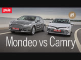 Toyota Camry 2018 #9: Камри vs Ford Mondeo