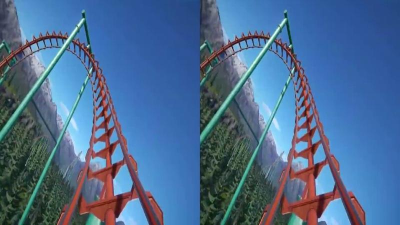 VR Roller Coaster Tycoon - High Quality 4K POV (3D SBS VR BOX)
