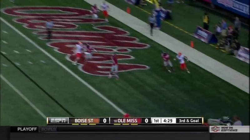 NCAA Football. Week 01. Ole Miss Rebels vs. Boise State Broncos. 28.08.2014