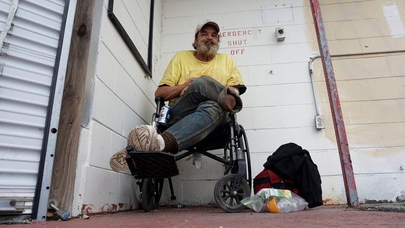 Homeless VEITNAM ERA VETERAN in TITUSVILLE, Fl