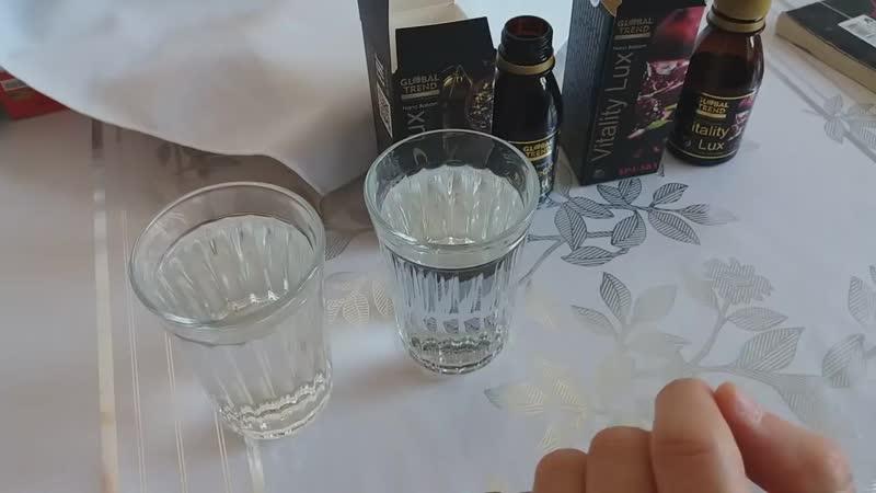Как мы пьём нано-бальзамы Perfecto lux и Vitality lux