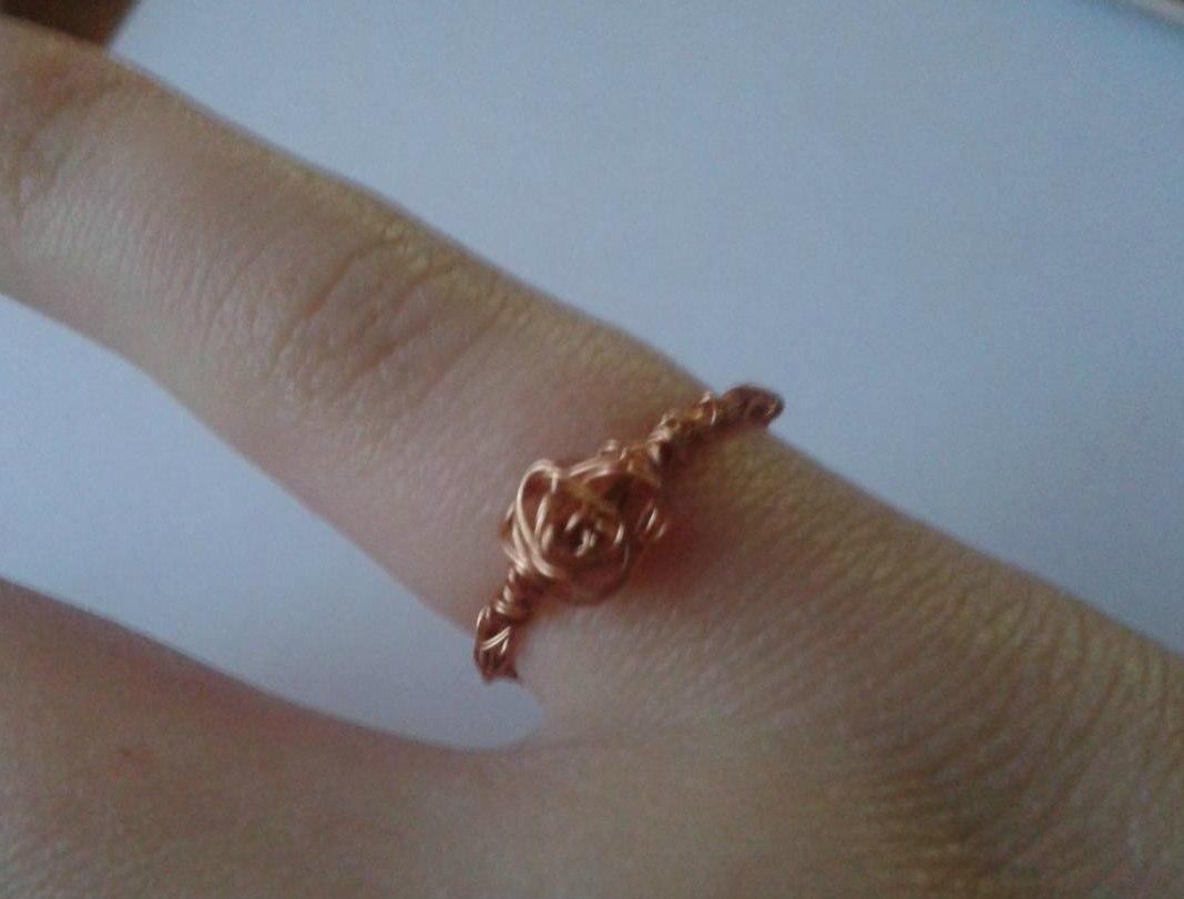 Оригинальное кольцо своими руками фото 909