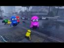 ScortyShow МИНЬОНЫ НАПАЛИ НА ГОРОД ЛОС САНТОС В ГТА 5 МОДЫ! ОБЗОР МОДА GTA 5 видео игра как мультик для детей