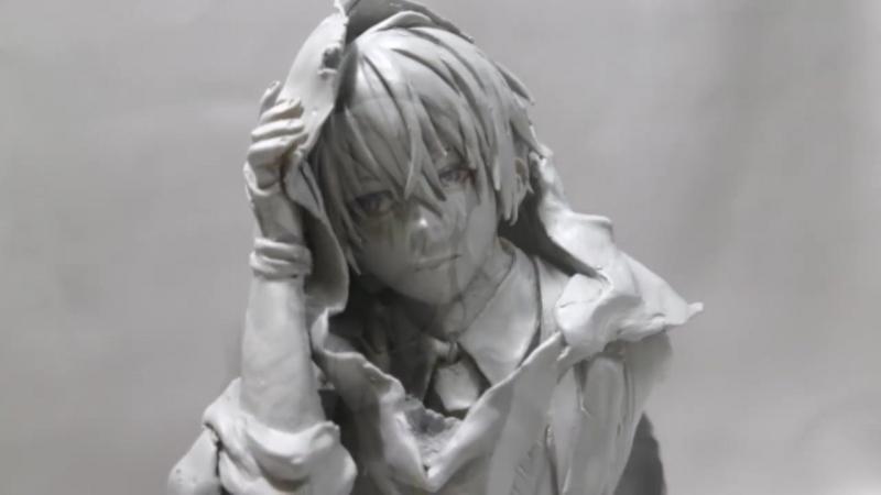 【フィギュア製作】山姥切国広 作ってみた(no Painting) sculpting clay figure