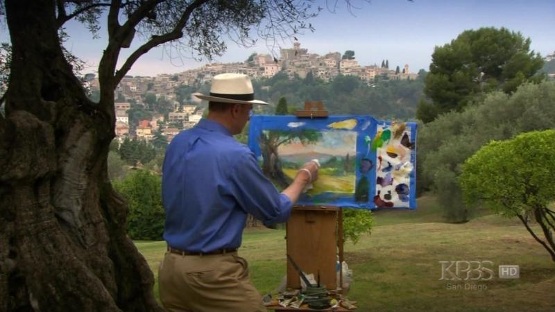 Landscapes Through Time With David Dunlop - 104 - Renoir's Olive Groves - Cagnes Sur Mer, France