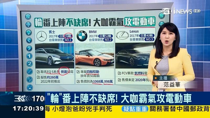 賓士、BMW、Lexus搶攻電動車市場 特斯拉價格親民但生產趕不上23%客戶退訂│200