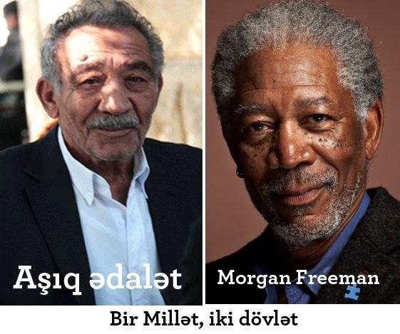 Азербайджанские двойники знаменитых актеров - ФОТО