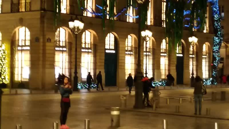 Париж Франция Вандомская площадь1