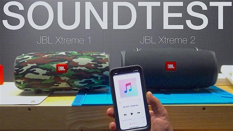 JBL Xtreme 1 vs JBL Xtreme 2 - Soundtest