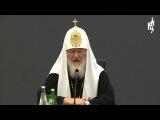 Патриарх встретился с участниками учредительного собрания Новосибирского отделения ВРНС
