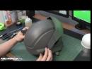 Genji Overwatch Foam Cosplay Helmet Build