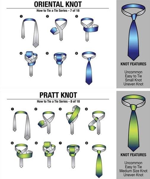 уроки завязывать галстук