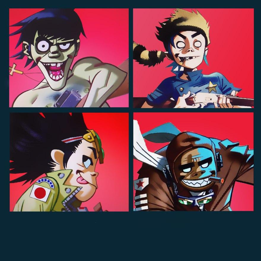 Новые песни Gorillaz