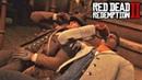 Артур и Ленни решили немного выпить - Red Dead Redemption 2