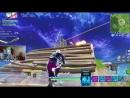 [Ninja] Clearing Tilted Towers Featuring GALAXY SKIN!! - Fortnite Battle Royale Gameplay - Ninja & Wildcat