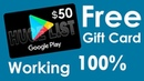 How To Get Free Redeem Codes For Google Play Store REal Way Free$50 kode redeem google play gratis