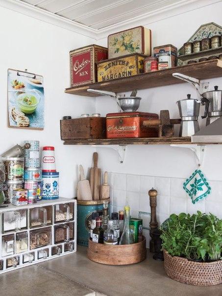 Кухни в стиле Shabby Chic