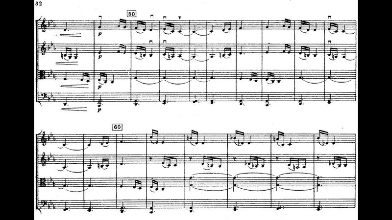 Sergei Rachmaninoff - String Quartet No. 2 (1896) [Score-Video]