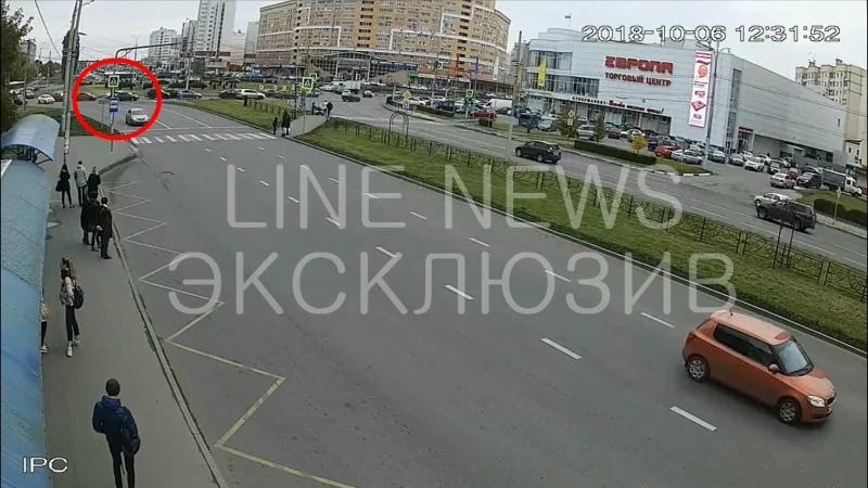 Водитель напал на шофёра автобуса в Липецке (ЭКСКЛЮЗИВ LINENEWS)