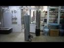 Дровяная водогрейная колонка душ КВЭ 2 90