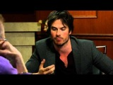 I Wanna Go Be Johnny Depp  Ian Somerhalder Interview  Larry King Now Ora TV