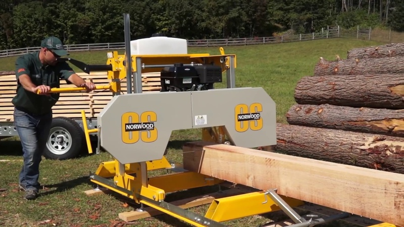 The Affordable, Easy-to-Use Reliable Sawmill You've Been Looking For - The Frontier OS27