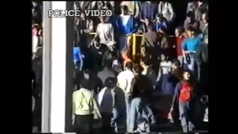 Дарлингтон 0:1 Мидлсбро. Фанатские беспорядки на трибунах