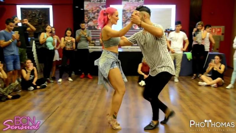 Willy y Noura [Cuantos Dias Mas] @ BCN Sensual Bachatea 2018