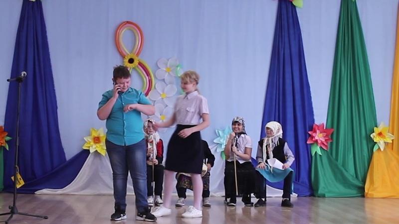 Выступление бабушек 4г класса Ординской школы