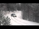 Axel FRANCOIS Drift dans la neige en BMW 325i E36 Ice and Snow driving