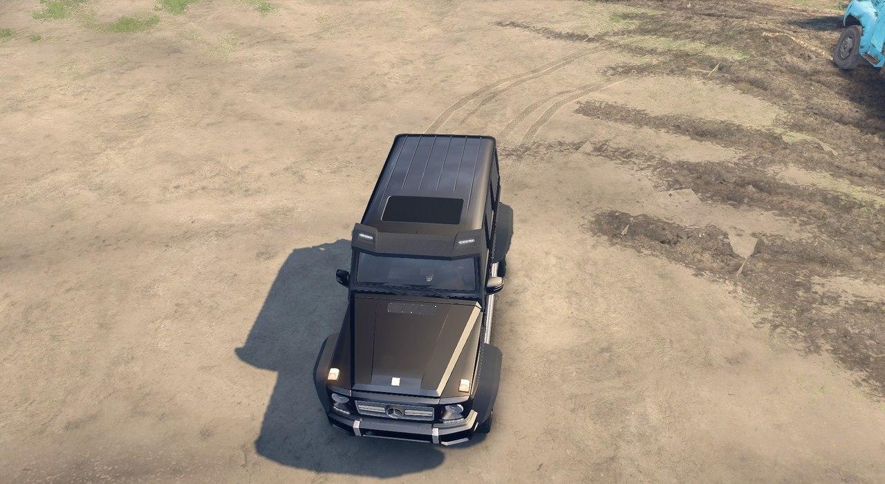 Mercedes G65 4×4 для Spintires - Скриншот 1