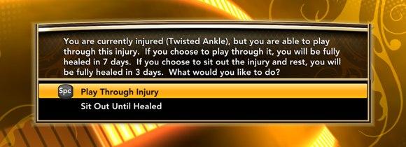 игрок получил травму в нба2к13
