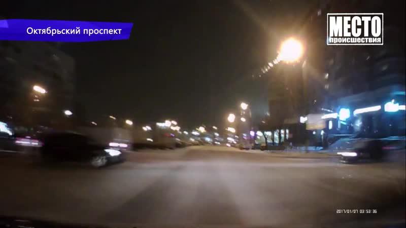 Видеорегистратор. ДТП на Дзержинского белый Шевроле. 10.12.2018