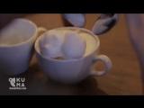 Арт-искусство в чашечке кофе