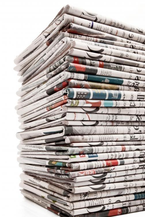 Операторы печатных машин являются важной частью газетной индустрии.