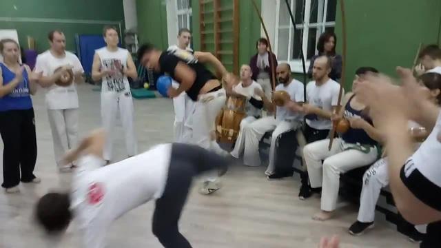 Menina capoeira · coub, коуб
