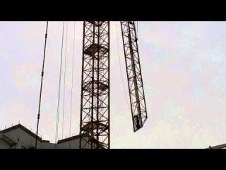 Монтаж башенного крана КБ-515. Часть-2.