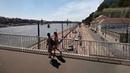 Из Буды в Пешт. Вид на Дунай. Будапешт. Венгрия 16.07.2018