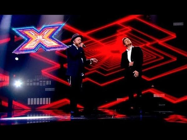 Марк Савин и Alex Clare – Too close – Х-Фактор 9. Пятый прямой эфир. ФИНАЛ