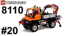 Lego Technic 8110 Unimog U400 – Легенды Лего Техник – Обзор №20