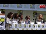 SDCC Women Who Kick Ass Full Panel - Maisie Williams, Natalie Dormer, Tatiana Maslany