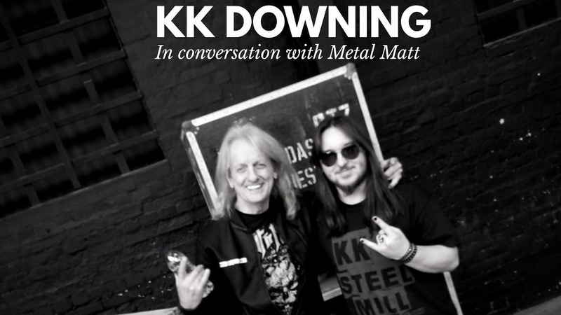 KK Downing (Judas Priest) - In Conversation with Metal Matt - Interview 2018