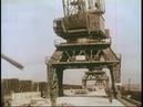 Эпизоды из кинохроники строительства Камской ГЭС, 1953 год.