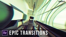 Create 3 Popular Transitions in After Effects Tutorial